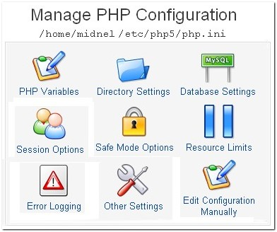 manage_php_configuration